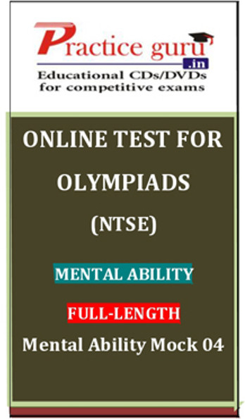 Practice Guru Olympiads (NTSE) Mental Ability Full - Length Mental Ability Mock 04 Online Test(Voucher)