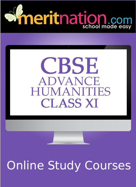 Meritnation CBSE - Advance Humanities (Class 11) School Course Material(Voucher)