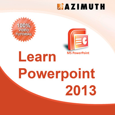 Azimuth Learn MS Powerpoint 2013 Online Course(Voucher)