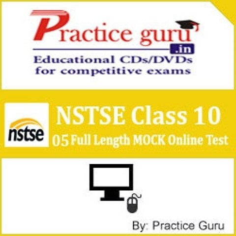 Practice Guru NSTSE Class 10 - 05 Full Length MOCK Online Test(Voucher)