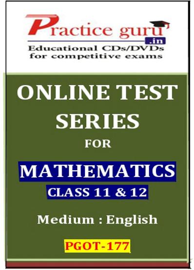 Practice Guru Series for Mathematics Class 11 & 12 Online Test(Voucher)