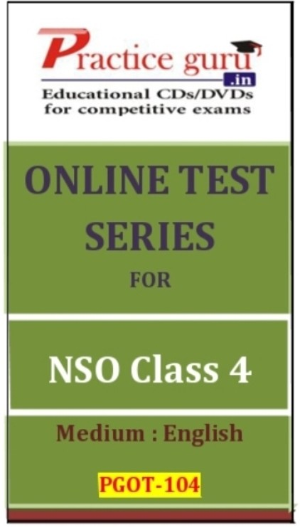 Practice Guru Series for NSO Class 4 Online Test(Voucher)