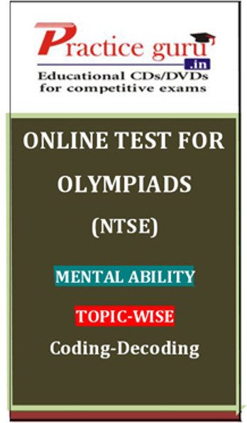 Practice Guru Olympiads (NTSE) Mental Ability Topic-wise Coding - Decoding Online Test(Voucher)