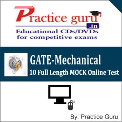 Practice Guru GATE-Mechanical - 10 Full Length MOCK Online Test(Voucher)