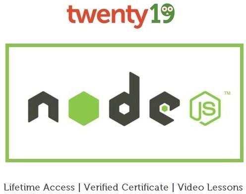 Twenty19 Node.js from Scratch Certification Course(Voucher)