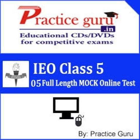 Practice Guru IEO Class 5 - 05 Full Length MOCK Online Test(Voucher)