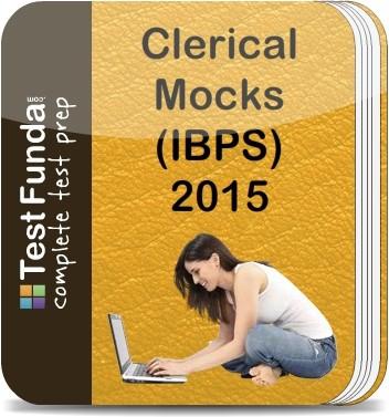 Test Funda Clerical Mocks (IBPS) - 2015 Online Test(Voucher)