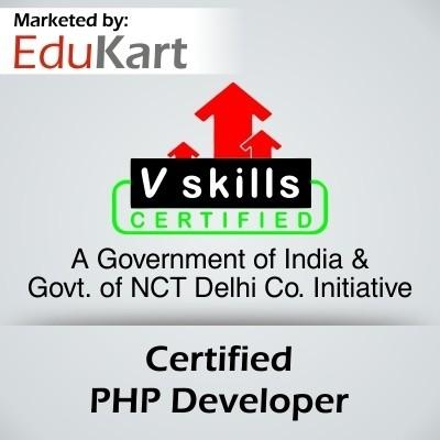 Vskills Certified PHP Developer - V Skills Certified Certification Course(Voucher)