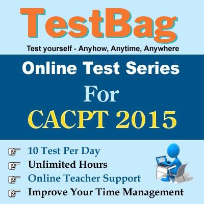 TestBag CA CPT 2015 Online Test(Voucher)