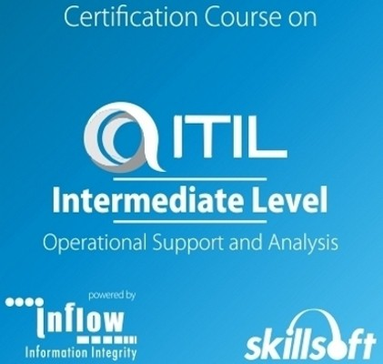 Skill Soft ITIL Intermediate Level : Operational Support and Analysis Certification Course(Voucher)