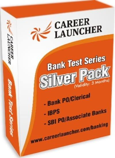 Career Launcher Bank Test Series - Silver Pack (Bank PO / Clerical / IBPS / SBI PO / Associate Banks) Online Test(Voucher)