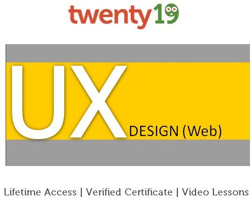 Twenty19 User Experience Design (Web) Certification Course(Voucher)