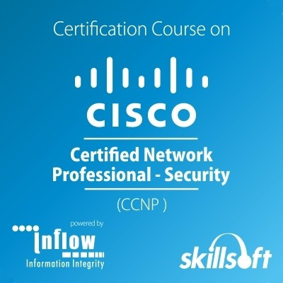 Skill Soft Cisco Certified Network Professional - Security Certification Course(Voucher)