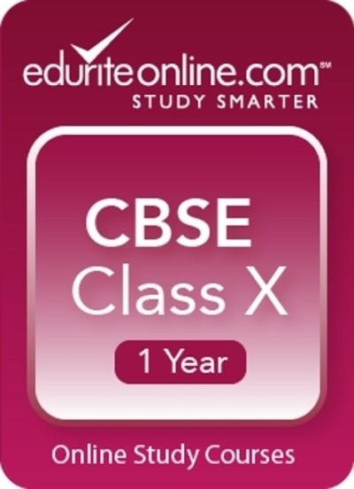 Edurite CBSE Class 10 : 1 Year Online Course(Voucher)