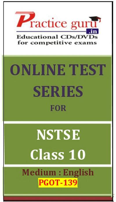 Practice Guru Series for NSTSE Class 10 Online Test(Voucher)