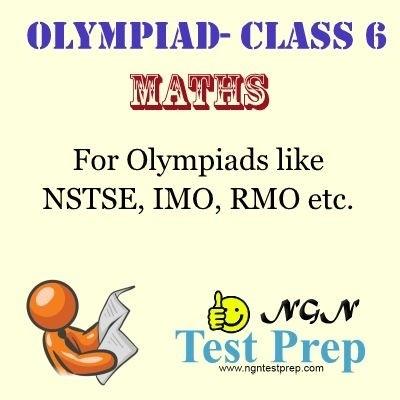NGN Test Prep Olympiad - Maths (Class 6) Online Test(Voucher)