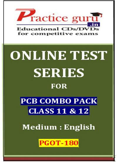 Practice Guru Series for PCB Combo Pack Class 11 & 12 Online Test(Voucher)
