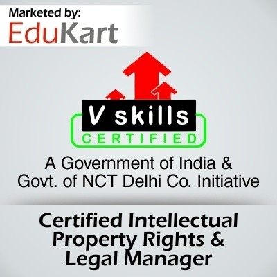 Vskills Certified Intellectual Property Rights & Legal Manager Certification Course(Voucher)