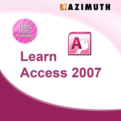 Azimuth Learn Access 2007 Online Course(Voucher)