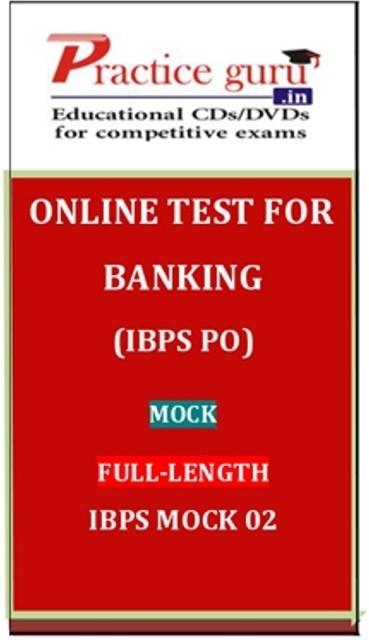 Practice Guru Banking (IBPS PO) Mock Full-length IBPS Mock 02 Online Test(Voucher)