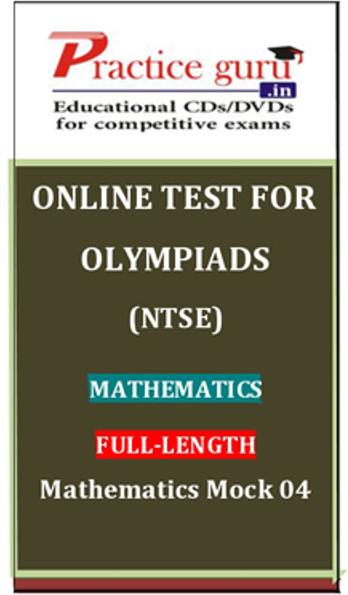 Practice Guru Olympiads (NTSE) Mathematics Full - Length Mathematics Mock 04 Online Test(Voucher)