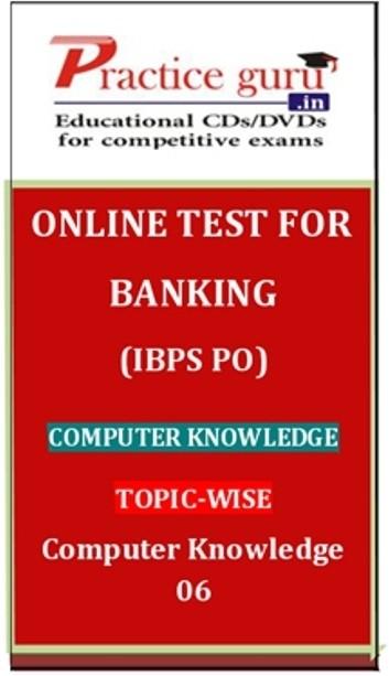 Practice Guru Banking (IBPS PO) Computer Knowledge Topic-wise Computer Knowledge 06 Online Test(Voucher)