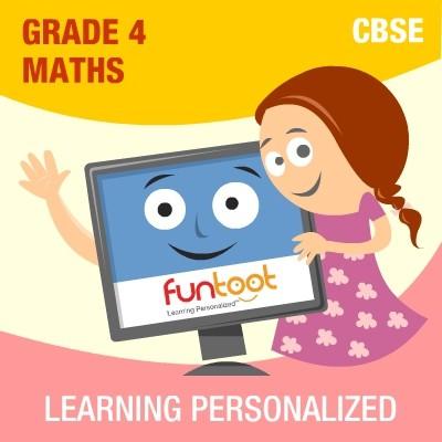 Funtoot CBSE - Grade 4 Maths School Course Material(User ID-Password)