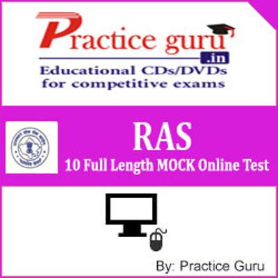 Practice Guru RAS - 10 Full Length MOCK Online Test(Voucher)