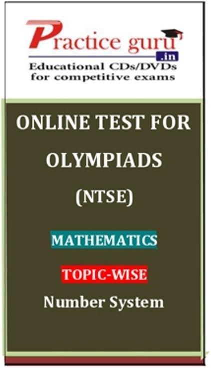 Practice Guru Olympiads (NTSE) Mathematics Topic-wise Number System Online Test(Voucher)
