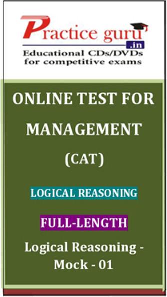 Practice Guru Management (CAT) Full-length - Logical Reasoning - Mock - 01 Online Test(Voucher)