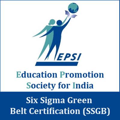 SkillVue EPSI - Six Sigma Green Belt Certification (SSGB) Certification Course(Voucher)