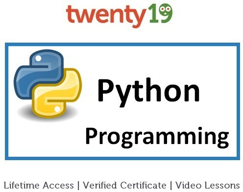 Twenty19 Python Programming Certification Course(Voucher)