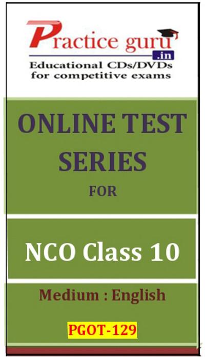 Practice Guru Series for NCO Class 10 Online Test(Voucher)