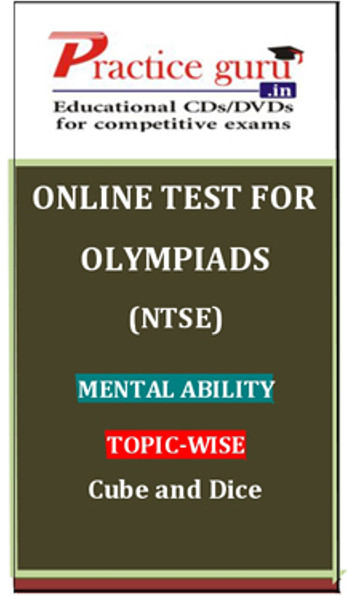 Practice Guru Olympiads (NTSE) Mental Ability Topic-wise Cube and Dice Online Test(Voucher)