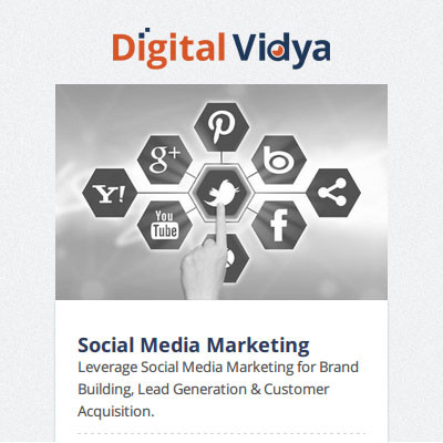 Digital Vidya Certified Social Marketing Master (CSMM) Certification Course(Voucher)