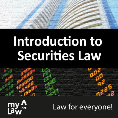 Rainmaker Introduction to Securities Law - Law for Everyone! Certification Course(Voucher)