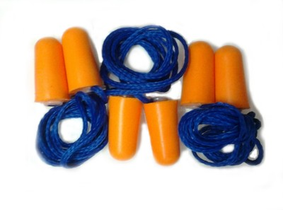 Beemall ER Ear Plug(Orange, Blue)