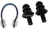 Jern Swim Pro Ear Plug & Nose Clip (Blac...