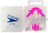 Vinto Pink Soft Silicone Swimming Ear Pl...
