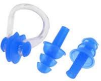 Jern Swim Pro Ear Plug & Nose Clip(Blue)