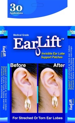 Earlift Disposable Ear Lobe Support(Pack of 30)