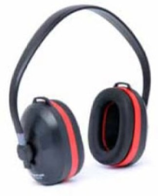 Frontier Overhead Red Ear Muff