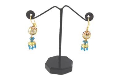 Bharat Sales Party wear Latest Bollywood Designer earing Cubic Zirconia Alloy Jhumki Earring
