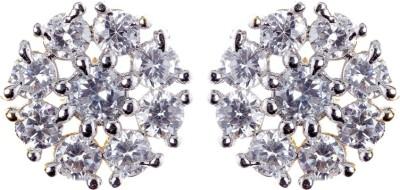 Rays SES231 Cubic Zirconia Copper Stud Earring