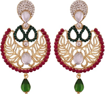 Vendee Fashion Studded Fashion Alloy Drop Earring