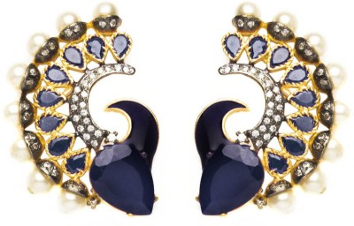 Joyas Stylish Look Brass Stud Earring
