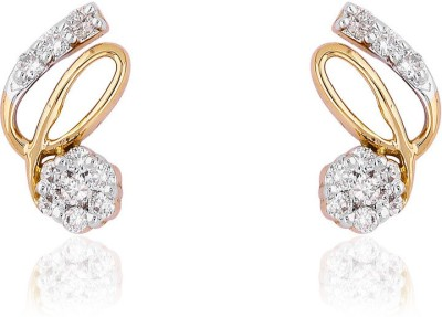 Jewels Choice Studs Diamond Gold Stud Earring