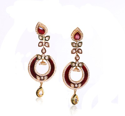 Sardarji Bentex Walley Stylish Brass, Copper Drop Earring