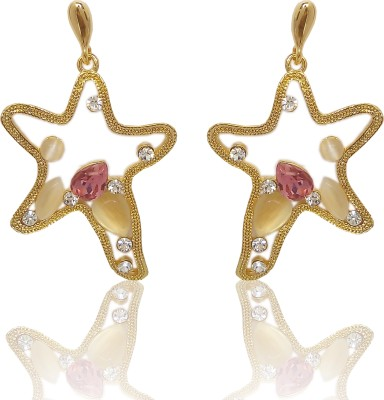 Chandrika Pearls Beautiful Copper Stud Earring