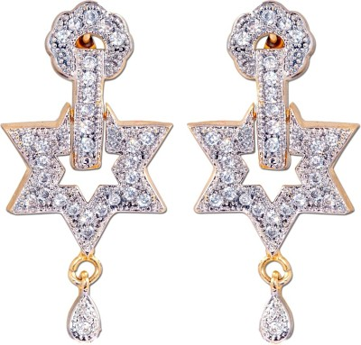 Enzy Sparkle Star Zircon Alloy Stud Earring